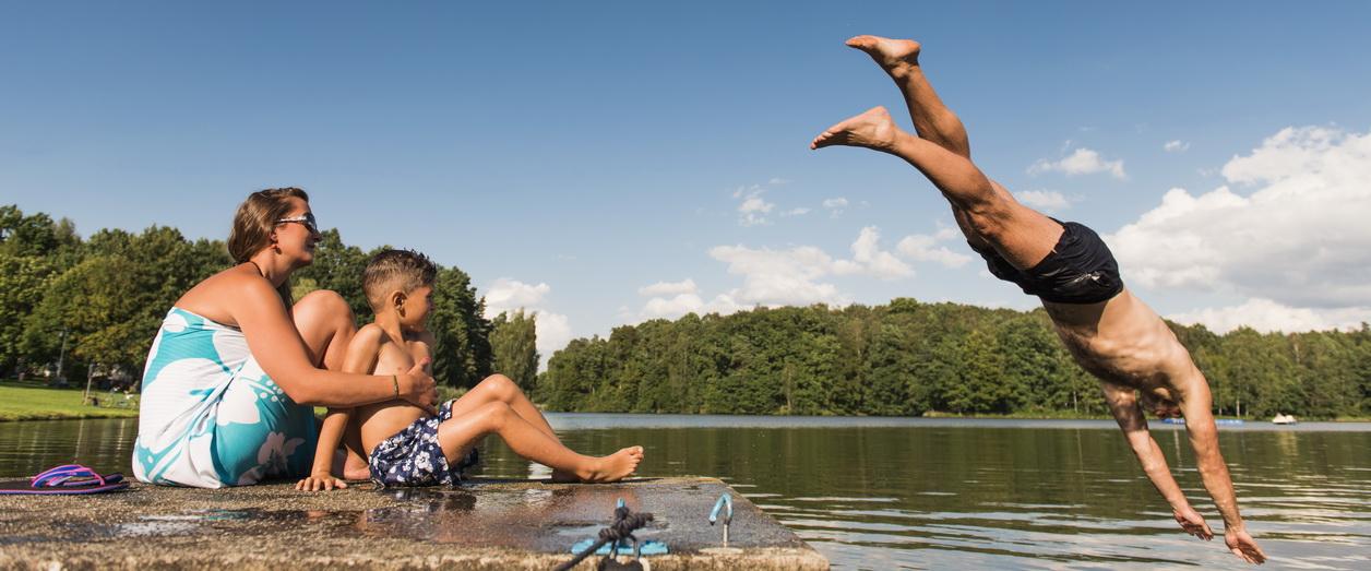 Sommer, Sonne, Schwimmen